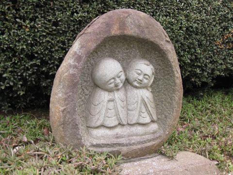 上土田の双体道祖神