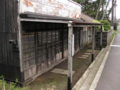 中野谷に残る旧店舗