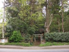 中野谷の小さな神社