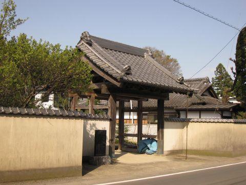 加藤家復旧門