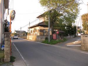 小幡の旧道三差路