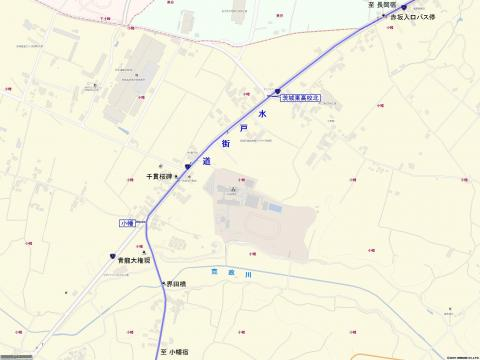 水戸街道 小幡