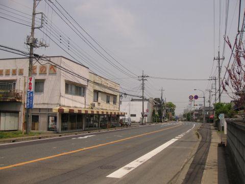 旧水戸街道 奥谷坂上