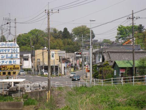 長岡宿江戸方入口