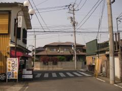 水戸街道 同心町