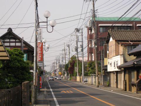 水戸街道 元台町