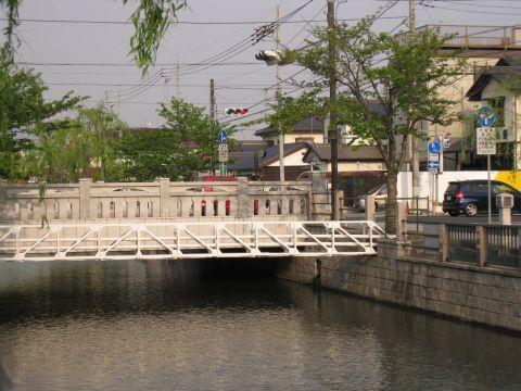銷魂橋と備前堀