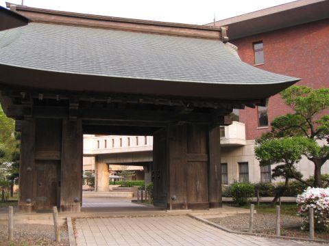 水戸城薬医門