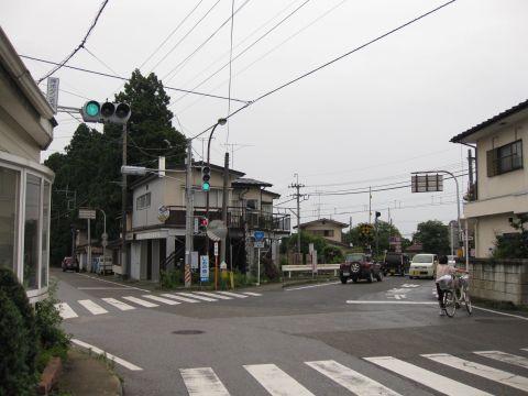 会津西・日光北街道分岐点