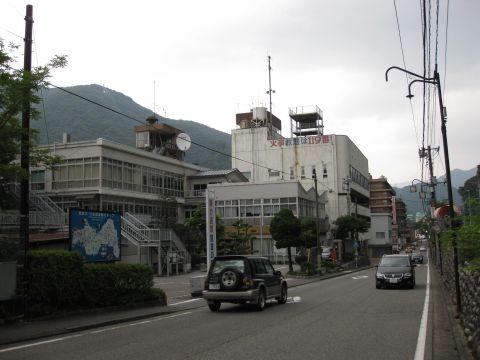 国道121号 藤原総合支所前