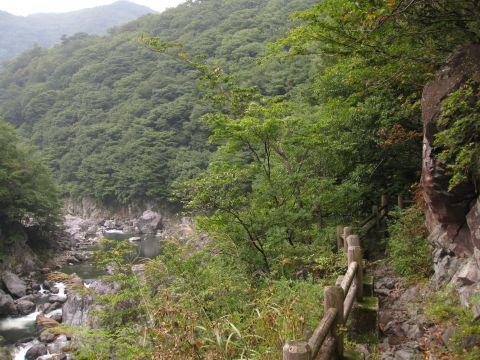 龍王峡遊歩道