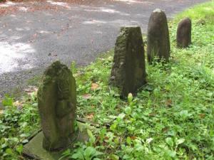 白岩の石碑4基