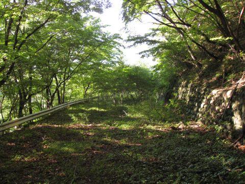 三ツ岩の旧国道