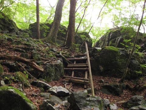 龍王峡遊歩道 渓流散策コース