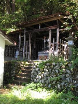 鶏頂山神社里宮