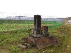 西国供養塔と道標