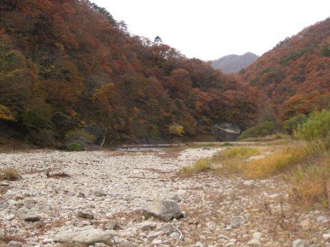 男鹿川河原