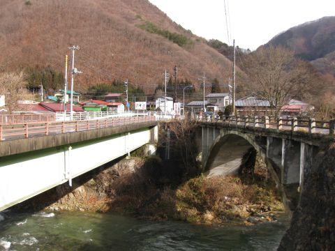 中三依橋と三依橋