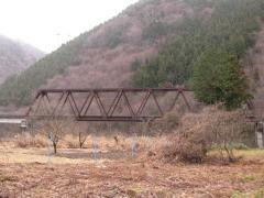 野岩線第一男鹿川橋梁