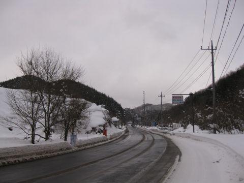 国道121号 横川パーキング付近