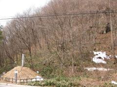 よばわり岩と横川一里塚