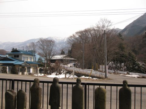 横川宿南側入口