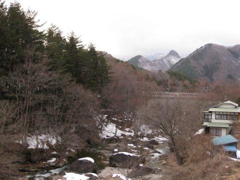 山王川と野岩鉄道