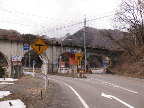 国道121号 糸沢作道