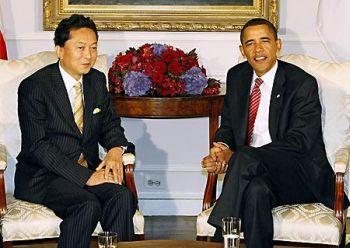 鳩山&オバマ