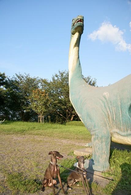 恐竜公園です