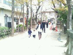 凪咲 お宮参り1