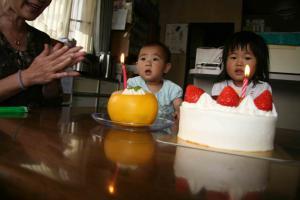 プチコ1歳誕生会2