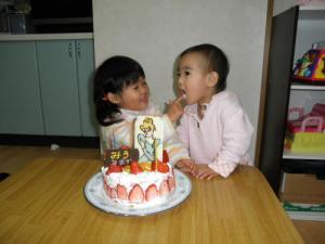 美羽誕生日2010-3