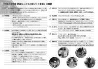 県産材こどもの城づくり2011チラシ(裏)