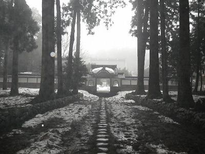 立山寺三門