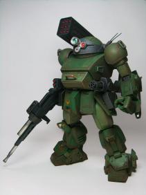 レッドショルダー装備緑肩