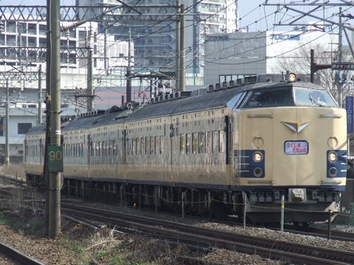 583系使用の列車は重厚がありますね。
