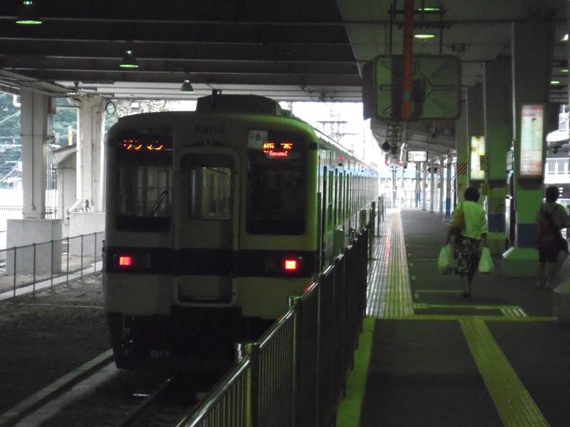 4両編成、ワンマン列車。