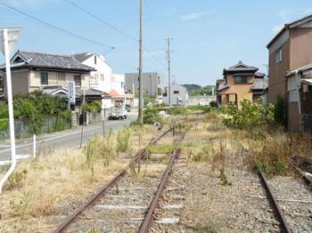 日高川にて