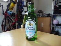 日本酒で?