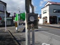 レトロなバス停