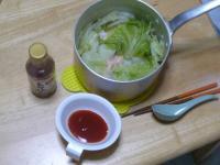 トマトのポン酢 ステン鍋