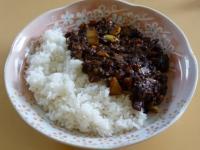 挽き肉カレー