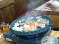 韓流のイケメンに焼いてもらいました