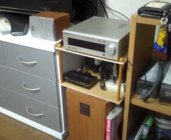 テレビ横の整理