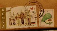 ケニア 切手