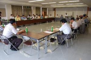 作州津山商工会理事会(奈義支所)
