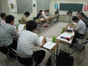 作州津山商工会青年部第2回役員会、野球、カップリングパーティー会議(勝北、加茂、阿波、久米、奈義)