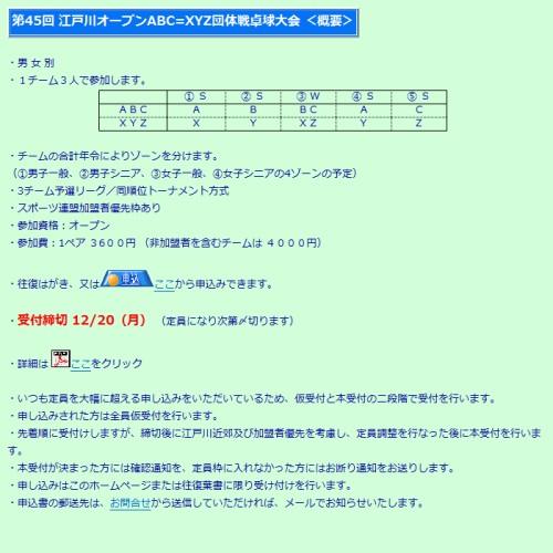 江戸川区卓球協議会 詳細情報ページへ