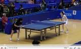 【卓球】 最新全日本選手権 四元奈生美VS高橋尚子